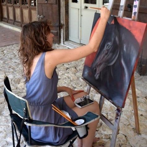 Peintre arabofrison